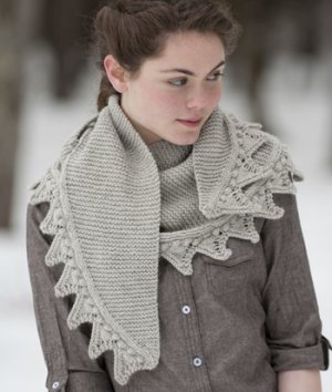 Mountaintop Vista Highland Fling Shawl Kit - Scarf and Shawls