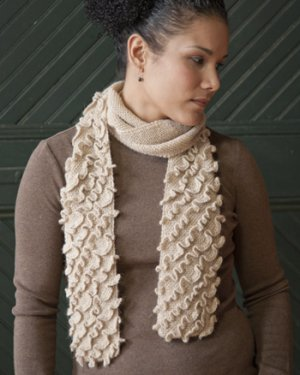 Mountaintop Vail Zest Ruffled Scarf Kit - Scarf and Shawls