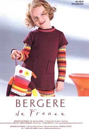 Bergere de France Patterns - Tunic Dress Pattern