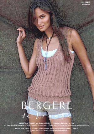Bergere de France Patterns - Tank Top Pattern