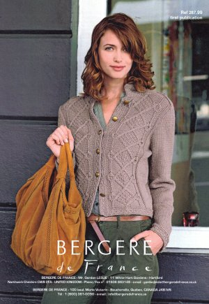 Bergere de France Patterns - Cropped Jacket Pattern