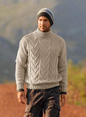 Bergere de France Patterns - Turtleneck Sweater Pattern