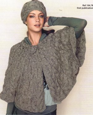 Bergere de France Patterns - Cape and Headband Pattern