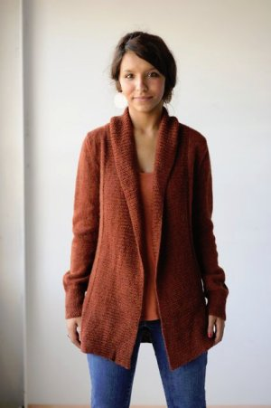 Knitbot Patterns - Autumnal Cardigan Pattern