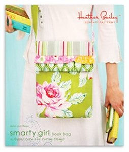 Heather Bailey Sewing Patterns - Smarty Girl Book Bag Pattern