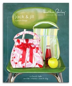 Heather Bailey Sewing Patterns - Jack & Jill Lunch Bags Pattern