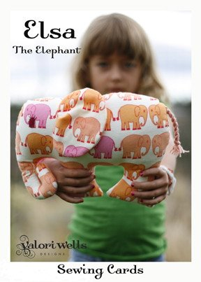 Valori Wells Designs Sewing Patterns - Elsa the Elephant (Discontinued) Pattern