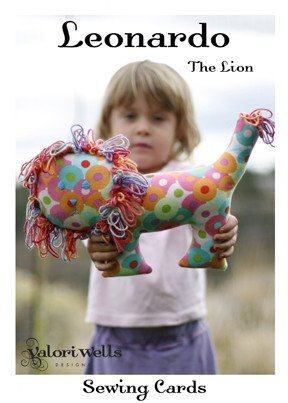 Valori Wells Designs Sewing Patterns - Leonardo the Lion Pattern