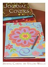 Valori Wells Designs Sewing Patterns - Journal Covers Pattern