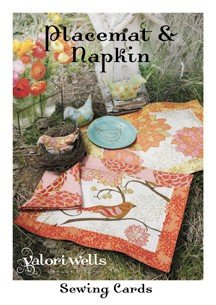 Valori Wells Designs Sewing Patterns - Placemat & Napkin Pattern