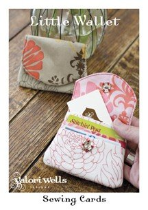 Valori Wells Designs Sewing Patterns - Little Wallet Pattern