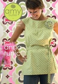 Amy Butler Sewing Patterns - Anna Tunic Pattern
