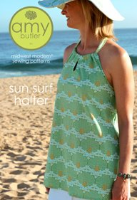 Amy Butler Sewing Patterns - Sun Surf Halter Pattern