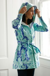 Amy Butler Sewing Patterns - Rainy Days Hooded Raincoat Pattern