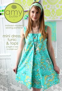 Amy Butler Sewing Patterns - Mini Dress, Tunic, & Tops Pattern