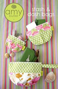 Amy Butler Sewing Patterns - Stash & Dash Bags Pattern