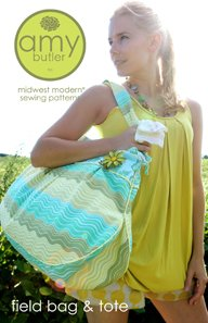 Amy Butler Sewing Patterns - Field Bag and Tote Pattern