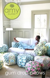 Amy Butler Sewing Patterns - Gum Drop Pillows Pattern