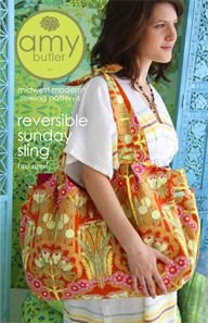 Amy Butler Sewing Patterns - Reversible Sunday Sling Pattern