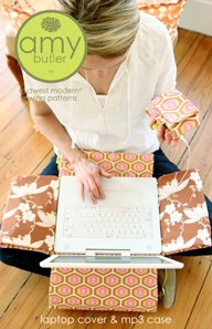 Amy Butler Sewing Patterns - Laptop Cover & MP3 Case Pattern