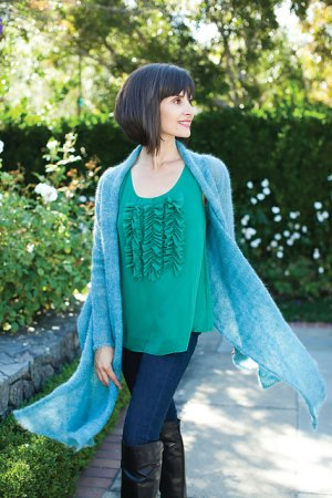 Be Sweet Patterns - Mohair Swing Wrap Pattern