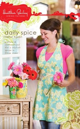 Heather Bailey Sewing Patterns - Daily Spice Halter Apron Pattern
