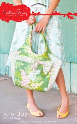 Heather Bailey Sewing Patterns - Saturday Market Bag Pattern