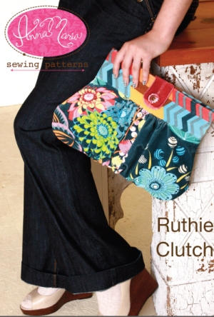 Anna Maria Horner Anna Maria Sewing Patterns - Ruthie Clutch Pattern