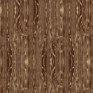 Joel Dewberry Aviary 2 Fabric - Woodgrain - Bark