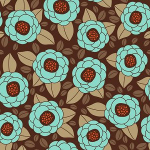 Joel Dewberry Aviary 2 Fabric - Bloom - Bark