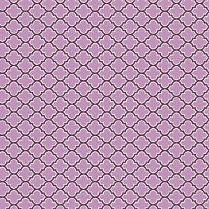 Joel Dewberry Aviary 2 Fabric - Lodge Lattice - Lilac