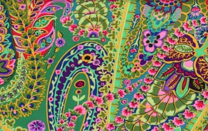 Kaffe Fassett Paisley Jungle Fabric