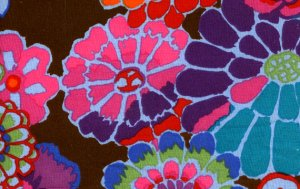 Kaffe Fassett Asian Circles Fabric - Dark