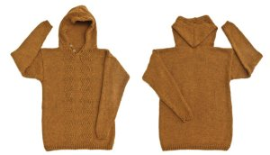 Berroco Vintage Chunky Men's Hoodie Kit - Mens Sweaters