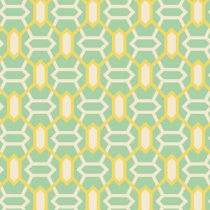 Joel Dewberry Heirloom Fabric - Marquis - Jade