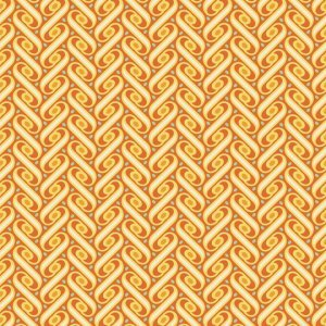 Joel Dewberry Heirloom Fabric - Ribbon Lattice - Amber