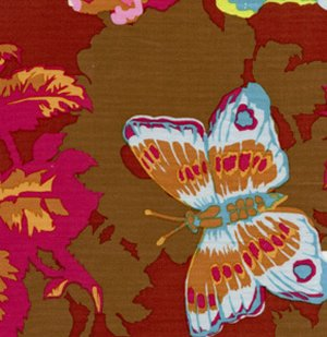 Anna Maria Horner Loulouthi Fabric - Clippings - Cherry