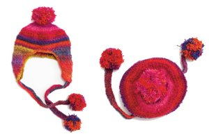 Noro Kureyon Earflap Hat Kit - Hats and Gloves