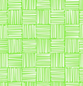 Erin McMorris Greenhouse Flannel Fabric - Basketweave - Grass