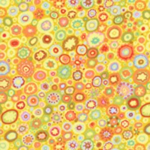 Kaffe Fassett Paperweight Fabric - Yellow