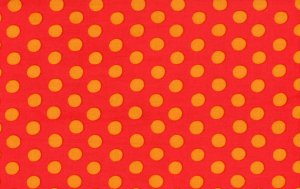 Kaffe Fassett Spots Fabric - Red