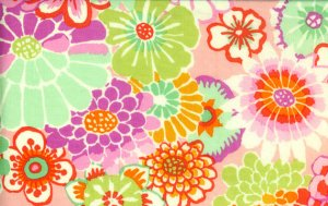 Kaffe Fassett Asian Circles Fabric - Pink