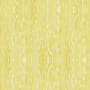 Joel Dewberry Aviary 2 Fabric - Woodgrain - Vintage Yellow