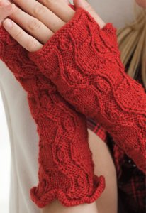 Lorna's Laces Shepherd Sport Fingerless Gloves Kit - Hats and Gloves
