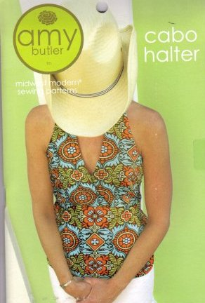 Amy Butler Sewing Patterns - Cabo Halter Pattern