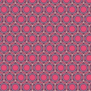 Joel Dewberry Heirloom Fabric - Opal - Fuchsia