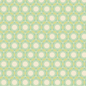 Joel Dewberry Heirloom Fabric - Opal - Jade