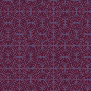 Joel Dewberry Heirloom Fabric - Empire Weave - Garnet
