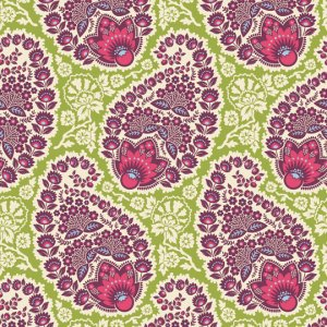 Joel Dewberry Heirloom Fabric - Paisley - Amethyst