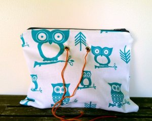 Top Shelf Totes Yarn Pop - Double - Turquoise Owl